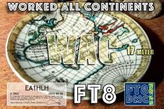 EA1HLH-WAC-17M_FT8DMC