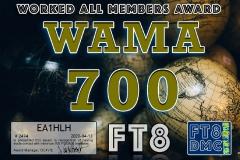 EA1HLH-WAMA-700_FT8DMC